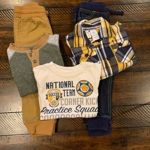 Other - Toddler Boy Size 2T Coordinating Outfits